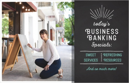 Today's business banking specials