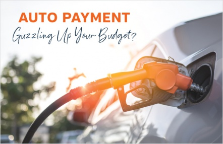 Auto payment guzzling up your budget?