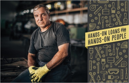 Hands-on loans for hands-on people
