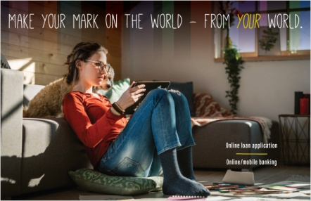 Make your mark on the world – from your world.