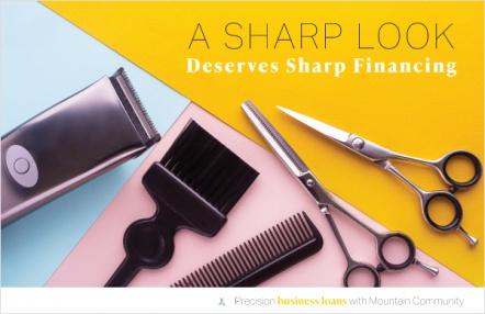 A sharp look deserves sharp financing