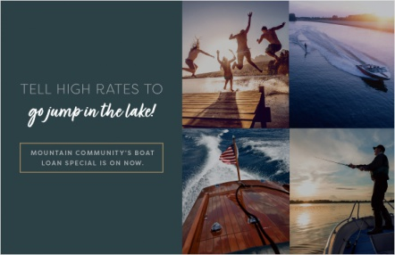 Tell high rates to go jump in the lake!