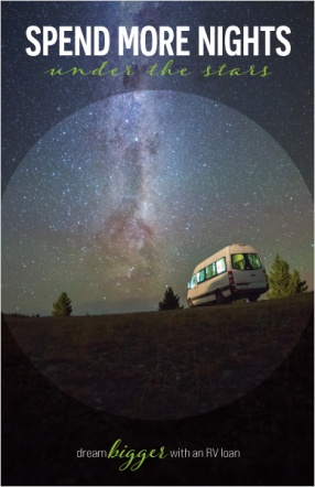 Spend more nights under the stars