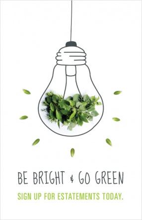 Be bright & go green