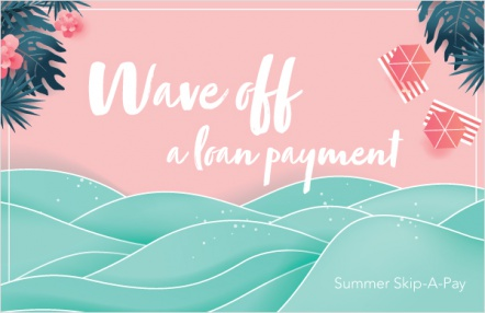 Wave off a loan payment