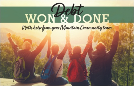 Debt won & done
