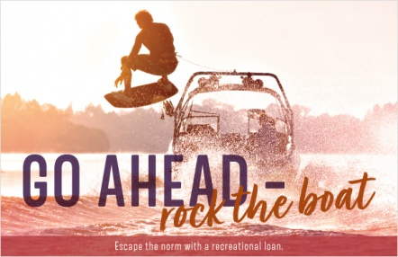 Go ahead – rock the boat