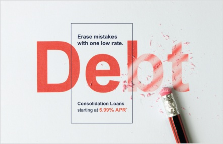 Erase mistakes with one low rate.
