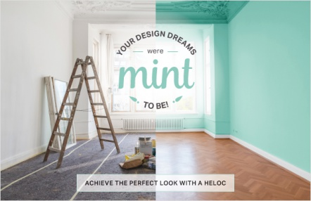 Your design dreams were mint to be!