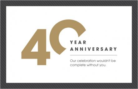 40-year anniversary