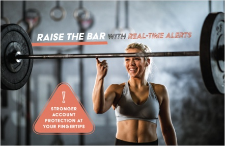 Raise the bar with real-time alerts