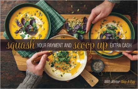 Squash your payment and scoop up extra cash
