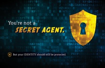 You're not a Secret Agent.