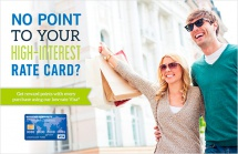 No Point to Your High-Interest Rate Card?