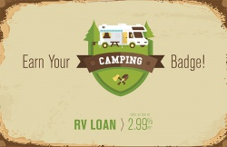 Earn Your Camping Badge!