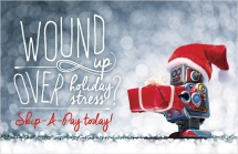 Wound Up Over Holiday Stress? Skip-A-Pay Today!