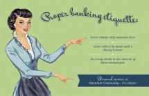 Proper Banking Etiquette