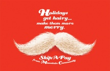 Holidays get hairy...make them more merry.