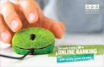 Our Earth-Friendly Online Banking Will Really Grow On You