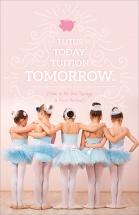 Tutus Today. Tuition Tomorrow.