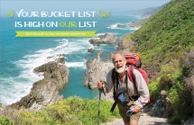 Your Bucket List is High on Our List