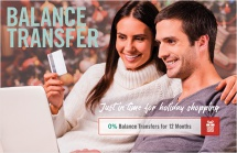 Balance Transfer – Just in Time for Holiday Shopping