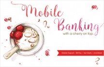 Mobile Banking with a Cherry on Top.