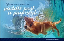 Now's Your Chance to Paddle Past a Payment