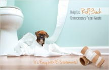 Help Us Roll Back Unnecessary Paper Waste