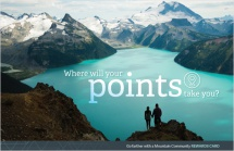 Where will your points take you?