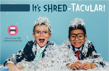 It's shred-tacular!