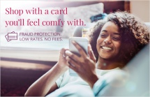 Shop with a card you'll feel comfy with.