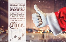 Holiday loans are coming to town!