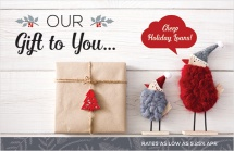 Our Gift to You...