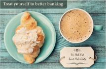Treat yourself to better banking