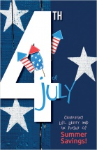 Celebrating life, liberty and the pursuit of summer savings!