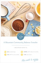 Recipe for a Mountain Community balance transfer