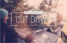 Cut down your loan payments for the holidays.