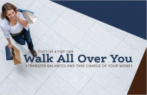 Don't let a high rate walk all over you.