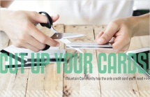 Cut up your cards!