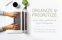 Organize & prioritize from the comfort of your computer