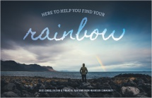 Here to help you find your rainbow