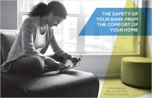 The safety of your bank from the comfort of your home