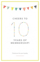 Cheers to 10 Years of Membership!