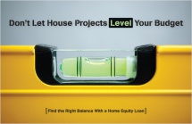 Don't Let House Projects Level Your Budget