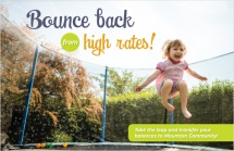 Bounce back from high rates!
