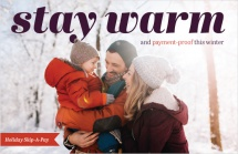 Stay warm and payment-proof this winter