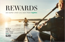 Rewards are better when you earn them together