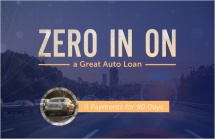 Zero in on a great auto loan