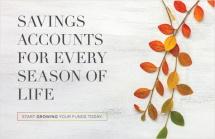 Savings Accounts For Every Season of Life